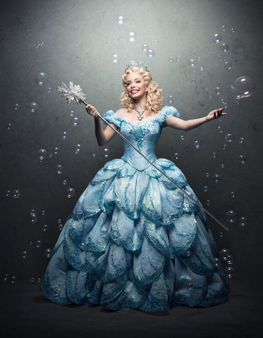 Adult Good Witch Glinda Dress Wicked Costume Wizard of Oz for Women