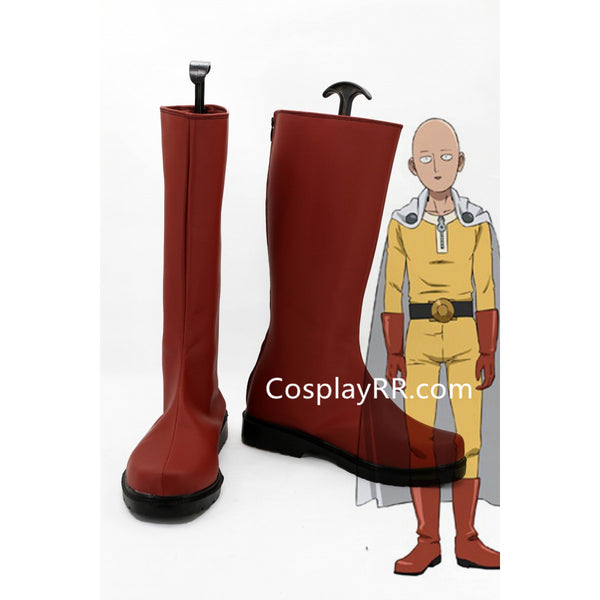 One Punch Man Saitama Caped Baldy Hagemanto Boots