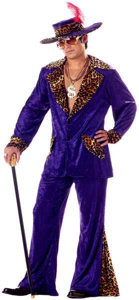 80s Pimp costume outfit for men adults