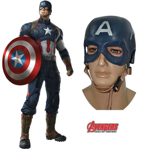 Captain America Mask Steven Cosplay Helmet