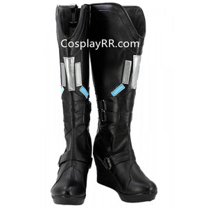 Black Widow Natalia Alianovna Romanova Boots Custom Cosplay Shoes