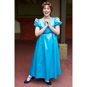 Adult Wendy Darling Nightgown Costume Blue Dress from Peter Pan