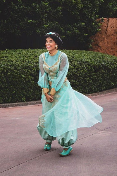 Adults Princess Jasmine Costume for Women Jasmine Outfit from Aladdin
