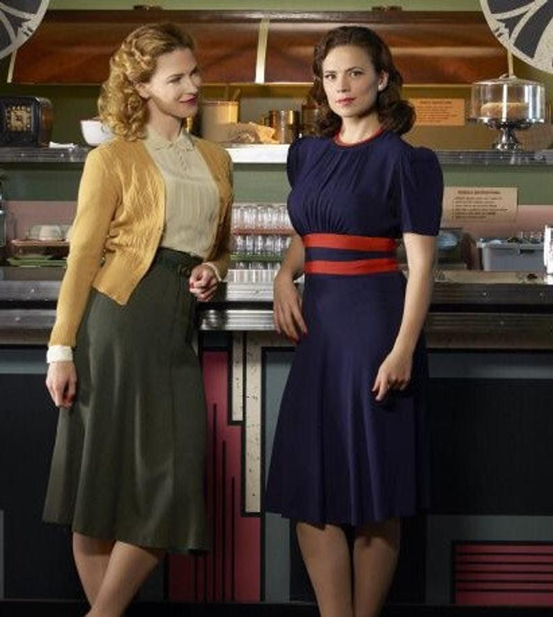 Agent Carter Swing Dress Agent Carter Outfits Cosplay Costume