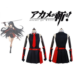 Akame ga KILL! Night Raid Akame Cosplay Costume