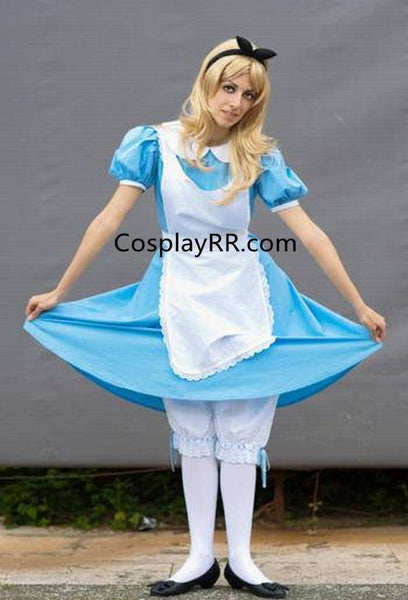 Alice in Wonderland dress Alice costume for adults plus size
