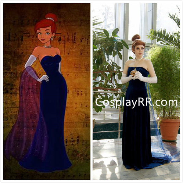 Anastasia Princess costume Anastasia costume blue dress