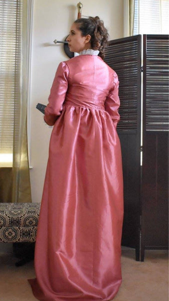 Angelica Schuyler Costume, Angelica Schuyler Church Gown Dress