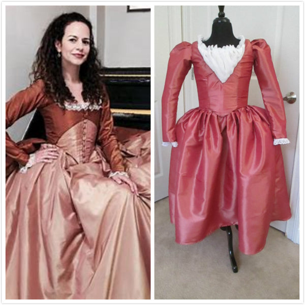 Angelica Schuyler Gown Schuyler Sister Costume Once Upon A Time OUAT Costume