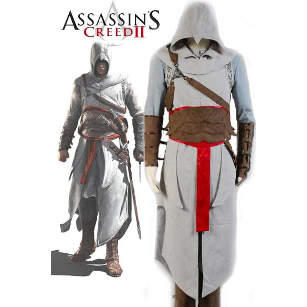 Assassin's Creed Revelation Altair Costume Full Outfit for Female Male