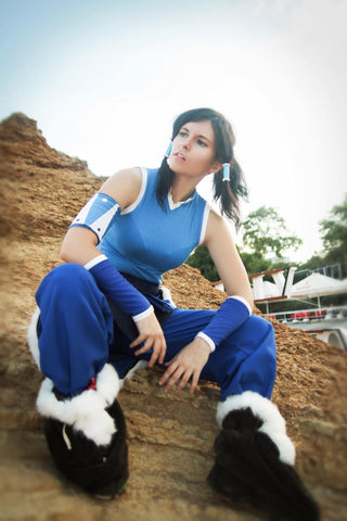 Avatar The Legend of Korra Costume for Women