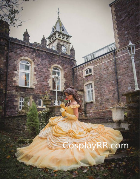 Belle Dress Ball Gown Costume from Beauty and the Beast