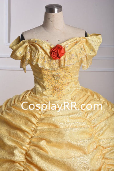 Princess Belle Costume, Princess Belle Dress Beauty and the Beast