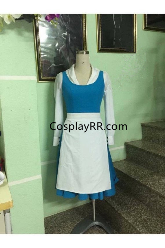 Belle Maid Costume, Princess Maid Dress Adult Plus Size