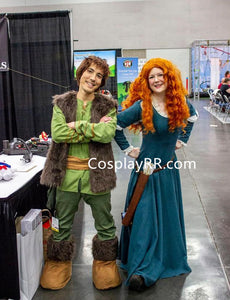 Brave Merida costume for adults plus size