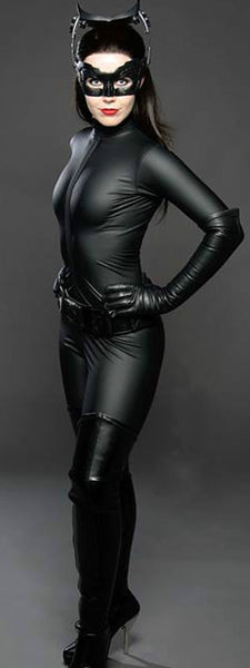 Catwoman Catsuit Costume for Adult Plus Size