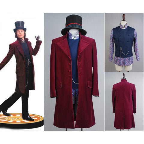 Charlie and the Chocolate Factory Willy Wonka Costume