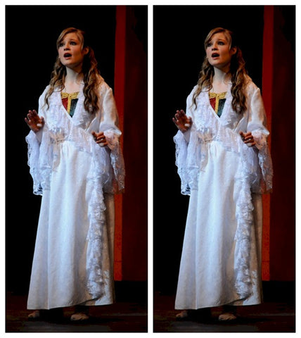 Christine Daae costume phantom of the opera white dress