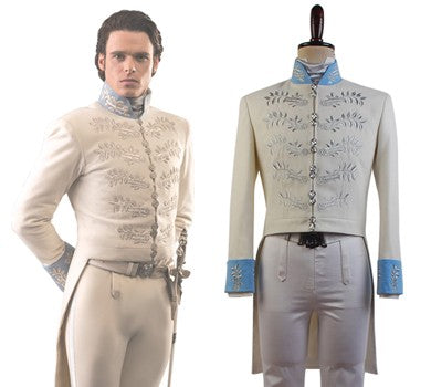 Cinderella 2015 Movie Prince Charming Costume Kit Uniform Outfit Cosplay