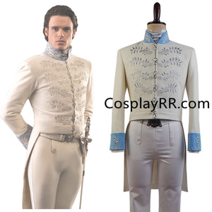 Cinderella 2015 Prince Charming costume suit for adults