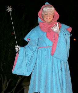Cinderella Fairy Godmother Costume Plus Size Available
