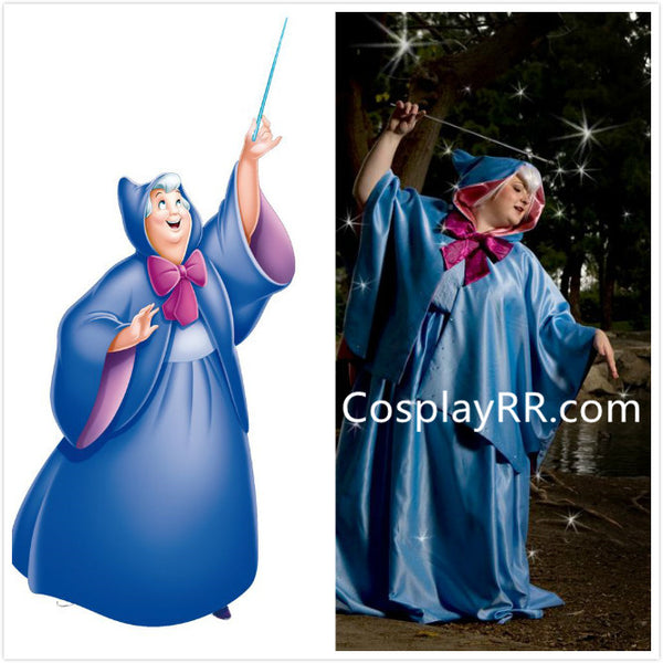 Fairy Godmother Costume Party Version for Adults from Cinderella