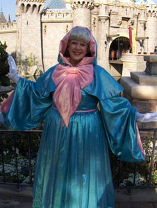 Cinderella's Fairy Godmother Costume Fairy Godmother Dress Plus Size