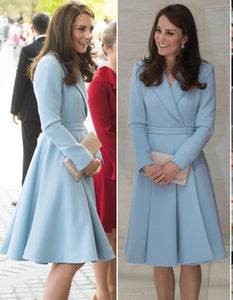 Cosplay Kate Middleton Blue dress