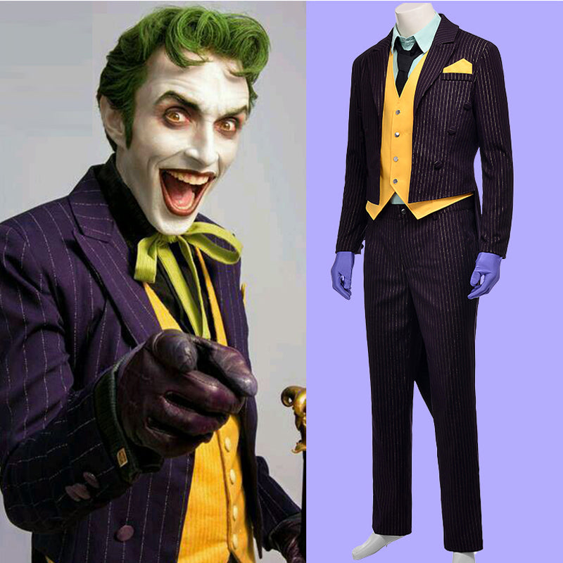 Custom Joker costume for Mens or Womens