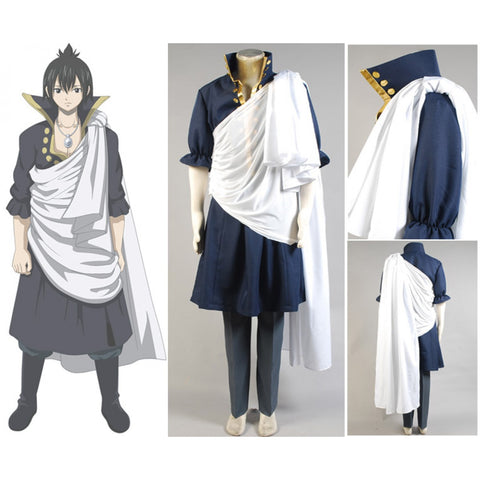 Custom Zeref Cosplay Costume for Adult