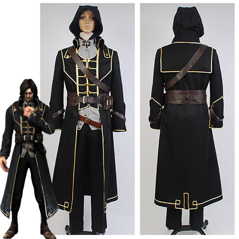 Dishonored Corvo Attano Costume for Adults Men Halloween Costume