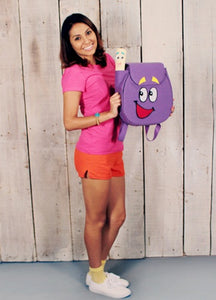 Dora costume dora the explorer cosplay costume with backpack