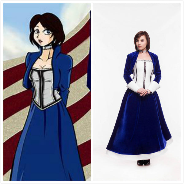 Elizabeth cosplay costume dress Halloween costume