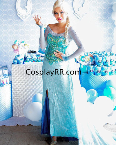 Elsa Dress Park style Elsa Costume for Adult