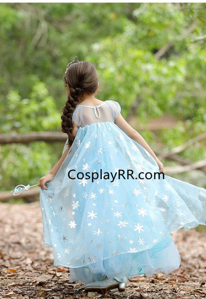 Elsa dress Princess costume for girls toddler