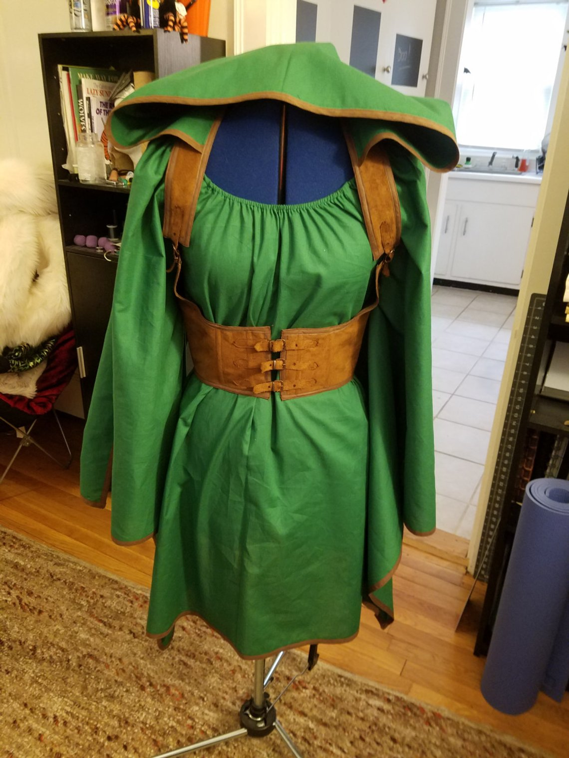 Elven Warrior Elven Costume for Female Plus Size