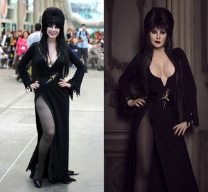 Elvira Mistress of the Dark Costume - Elvira Costume Black Elvira Dress by Cassandra Peterson
