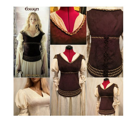 Eowyn Dernhelm costume Eowyn Shieldmaiden Dress