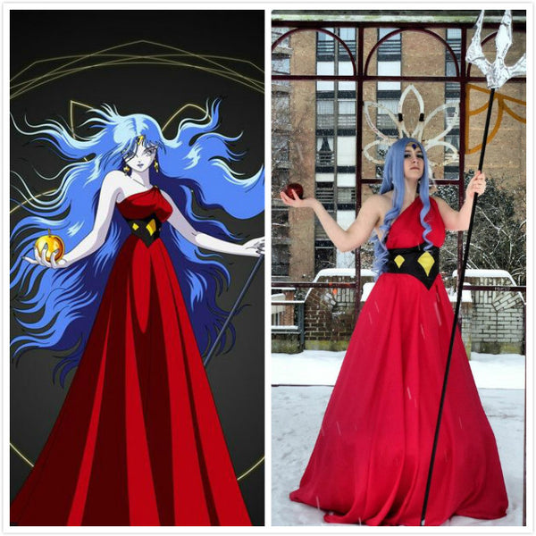 Eris Red Costume - the Evil Goddess of chaos and discord from Saint Seiya