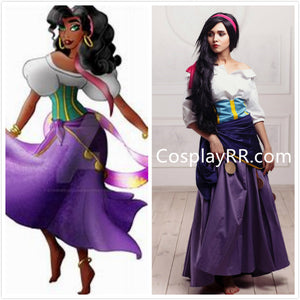 Esmeralda costume plus size gypsy dress