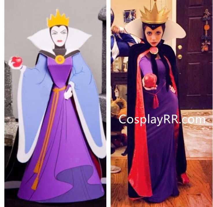 Evil Queen Costume Adults Plus Size Dress from Snow White