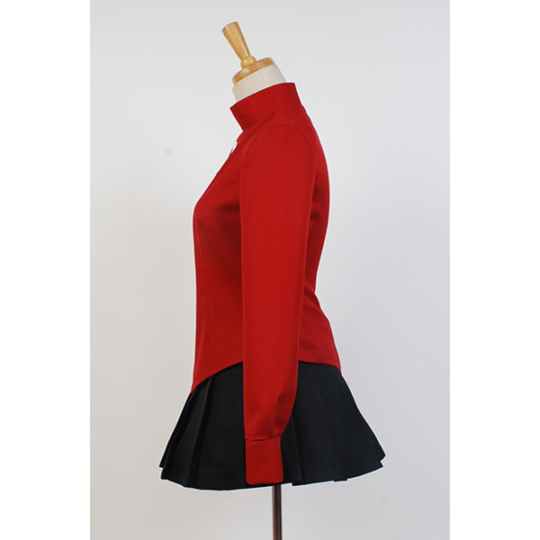 Fate Stay Night Cosplay Rin Tohsaka Costume Coat Skirt Outfit