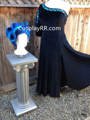 Hades Female Costume for Women Adult God of Underworld