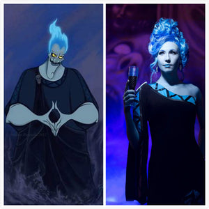 Female Hades costume God of Underworld