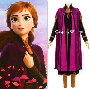 New Anna Frozen 2 Costume, Frozen 2 Anna Outfit any/plus size