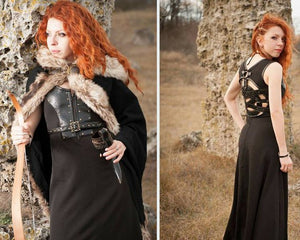 Game of Thrones Celtic Dress Viking Cosplay Costume
