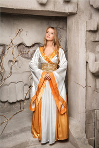 Game of Thrones Cersei Lannister in White Costume