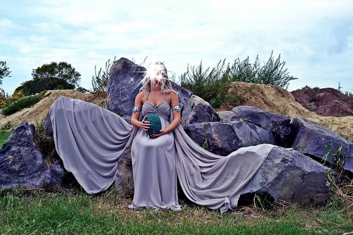 Game of thrones Daenerys Costume Cosplay Dress
