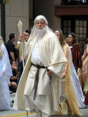 Gandalf costume the white staff cosplay costume for Male Female