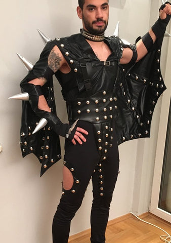 Gene Simmons Costume Demon Costume for Men Women